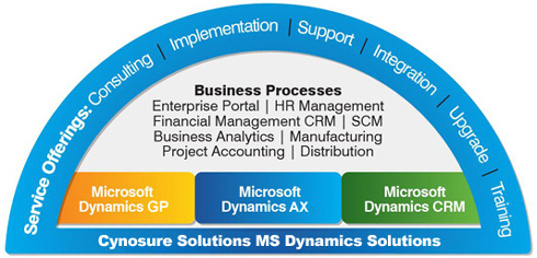 Cynosure Solutions Microsoft Dynamics Services Offerings